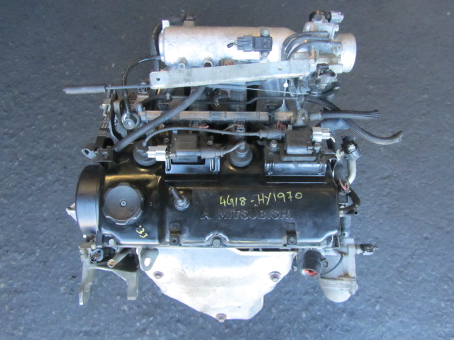 Mitsubishi Engines - Jap-euro